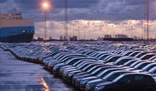 سيارات ملاكي بنصف مليار جنيه تدخل مصر من ميناء بورسعيد في يناير فقط
