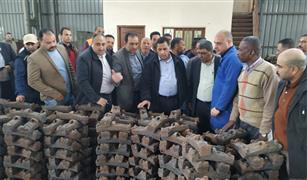 رئيس هيئة السكة الحديد يفاجئ ورش ومستشفى الهيئة في أبو زعبل بالزيارة