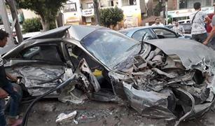٣ حوادث تصادم للسيارات بالقاهرة صباح اليوم.