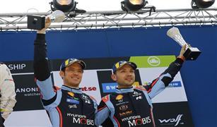 للمرة الثانية علي التوالي.. هيونداي موتور سبورت تحظى بالتتويج في بطولة العالم للراليات في السويد