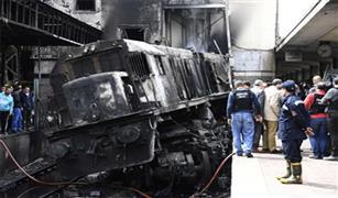السكة الحديد:  انحدار جرار وردية ابو غاطس علي رصيف رقم ٦ بمحطة مصر