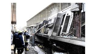 تحويلات مرورية برمسيس والجلاء عقب حادث القطار بمحطة مصر .
