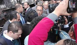 رئيس مجلس الوزراء بتفقد مصابي حادث القطار