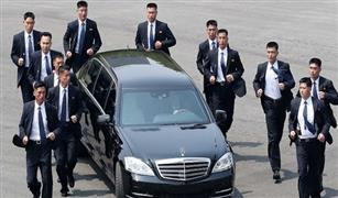 زعيم كوريا الشمالية يخالف العقوبات يستخدم سيارته المرسيدس في فيتنام