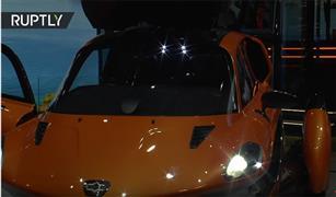 شاهد أول سيارة طائرة في العالم بمعرض جنيف| فيديو