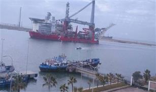 غلق بوغاز مينائي الاسكندريه والدخيلة لسوء الأحوال الجومائية