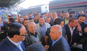وزير النقل يتفقد محطة مصر لمتابعة مستوى الخدمة