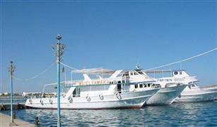 إعادة فتح ميناء شرم الشيخ البحرى بعد تحسن الأحوال الجوية