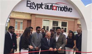 رئيس الجامعة البريطانية يفتتح أول معرض للسيارات بالشرق الأوسط لطلبة الجامعات