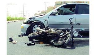 مصرع شخص وإصابة ٣ آخرين فى تصادم سيارة بموتوسيكل في مدينة نصر