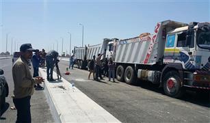 فتح طريق اسكندرية الزراعي بالاتجاهيين فى الساعة الثانية والنصف من صباح الاحد