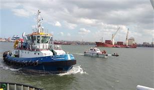 اعادة فتح بوغاز مينائي الاسكندريه والدخيلة بعد تحسن الاحوال الجوية