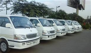 اكثر من ١١ الف سياره نقل وميكروباص دخلت مصر مارس الماضي