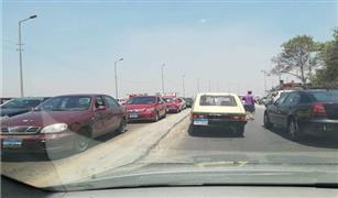 فتح كوبرى الجيش للسيارات وسحب الكثافات بعد انتهاء أعمال الإصلاح