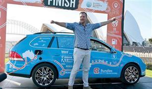 نهاية أكبر رحلة لسيارة كهربائية في العالم.. عبرت القارات