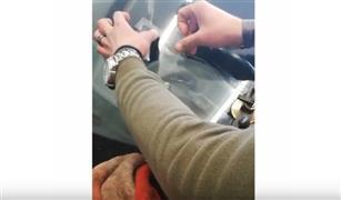 بالفيديو.. هكذا تقوم المراكز المتخصصة في مصر بإصلاح شروخ زجاج السيارة