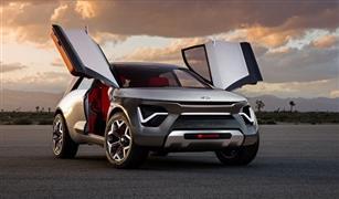 """""""كيا"""" تكشف عن سيارة كهربائية تشبه مركبات الخيال العلمي"""