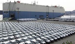 جمارك بورسعيد تفرج عن  سيارات بقيمة 253 مليون جنيه في مارس