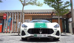 """""""مازيراتي الفارهة"""" تنضم إلى أسرة سيارات شرطة دبي !"""