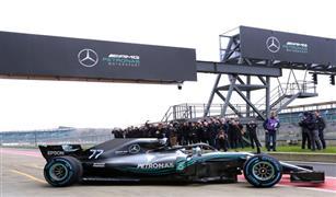 مازبين الأسرع في اختبارات فورمولا 1 في انطلاقته مع مرسيدس