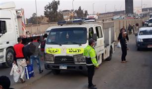 نشر سيارات الإغاثة المرورية على الطرق السريعة لمواجهة الأعطال بسبب ارتفاع  حرارة الجو