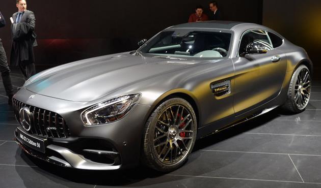 مرسيدس تقدم سيارتها الخارقة AMG GT بقوة 630 حصان