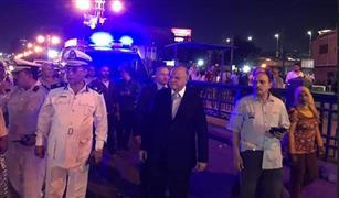 حملة ليلية بحيي الأزبكية وبولاق أبو العلا لرفع الاشغالات