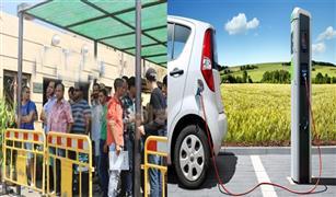 منح مالكو السيارات الكهربائية لوحات ورخص مؤقتة لحين التقنين.