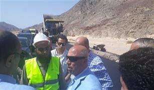 وزير النقل: الإنتهاء من مشروع طريق دهب /نويبع يونيو القادم