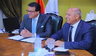 وزيرا النقل والتعليم العالي والبحث العلمي يبحثان اجراءات انشاء معهد تكنولوجيا السكك الحديدية
