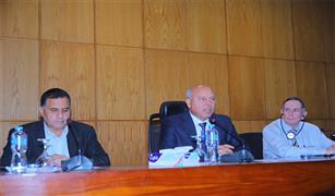 وزير النقل يشهد ورشة عمل حول  السلامة في السكك الحديدية بحضور ممثلي الهيئة الفرنسية