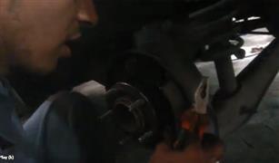 بالفيديو فك وتركيب تيل الفرامل