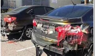 بالفيديو.. حقيقة انصهار سيارات بالكويت نتيجة ارتفاع درجات الحرارة