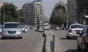 انسيابية الحركة المرورية على محاور القاهرة اليوم.