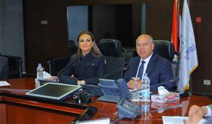 وزيرا النقل والاستثمار والتعاون الدولي يلتقيان وفد البنك الأوروبي لإعادة الإعمار والتنمية EBRD