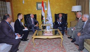 وزير النقل يبحث مع سفير بيلاروسيا التعاون المشترك في مجالات النقل