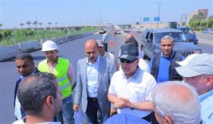 وزير النقل يتفقد أعمال تطوير و رفع كفاءة طريق بنها / المنصورة
