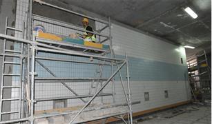 النقل تكثف تنفيذ أعمال المرحلة الرابعة للخط الثالث للمترو