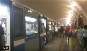 بالفيديو .. الاهرام اوتو فى جولة نادرة داخل مترو انفاق موسكو