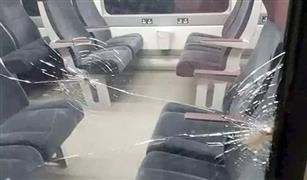 """بعد تنامي الظاهرة.. """"النقل"""" تهدد بعدم وقوف القطار بالمحطة التي يتم رشقه بالحجارة في محيطها"""