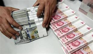 انخفاض سعر الدولار  أمام الجنيه و اليوان الصيني اليوم الثلاثاء