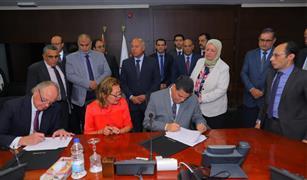 توقيع مذكرة تفاهم بين وزارة النقل وكبرى الشركات الأوروبيه