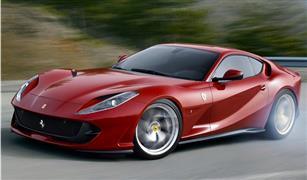 """""""فيراري 812 جي.تي.إس"""" أقوى سيارة مكشوفة في السوق بقوة 789 حصانا"""