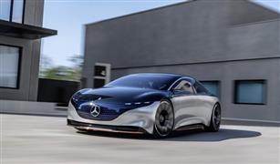 """""""مرسيدس بنز"""" تكشف عن سيارتها الكهربائية الحديثة: رؤية للمستقبل"""