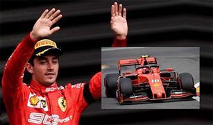 لوكلير يتوج بسباق فورمولا-1 البلجيكي