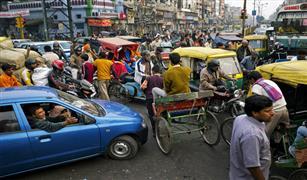 فوضى بالعاصمة الهندية جراء إضراب سائقي وسائل النقل الخاص