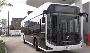 تويوتا تطرح 100 حافلة تعمل بخلايا الوقود الهيدروجينية في دورة الألعاب الأولمبية بطوكيو