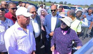 وزير النقل يتابع مشروع تطوير طريق جمصة بطول 50 كم وتكلفة مليار و50 مليون جنيه