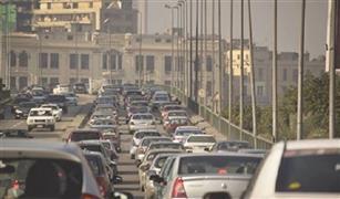 الحالة المرورية اليوم: كثافات عالية بالقاهرة والجيزة مع بداية العام الدراسي .