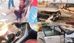 تعرف على مواصفات وإمكانيات سيارة حادث عمرو زكي .. الاغلى بين 3 سيارات فى مصر